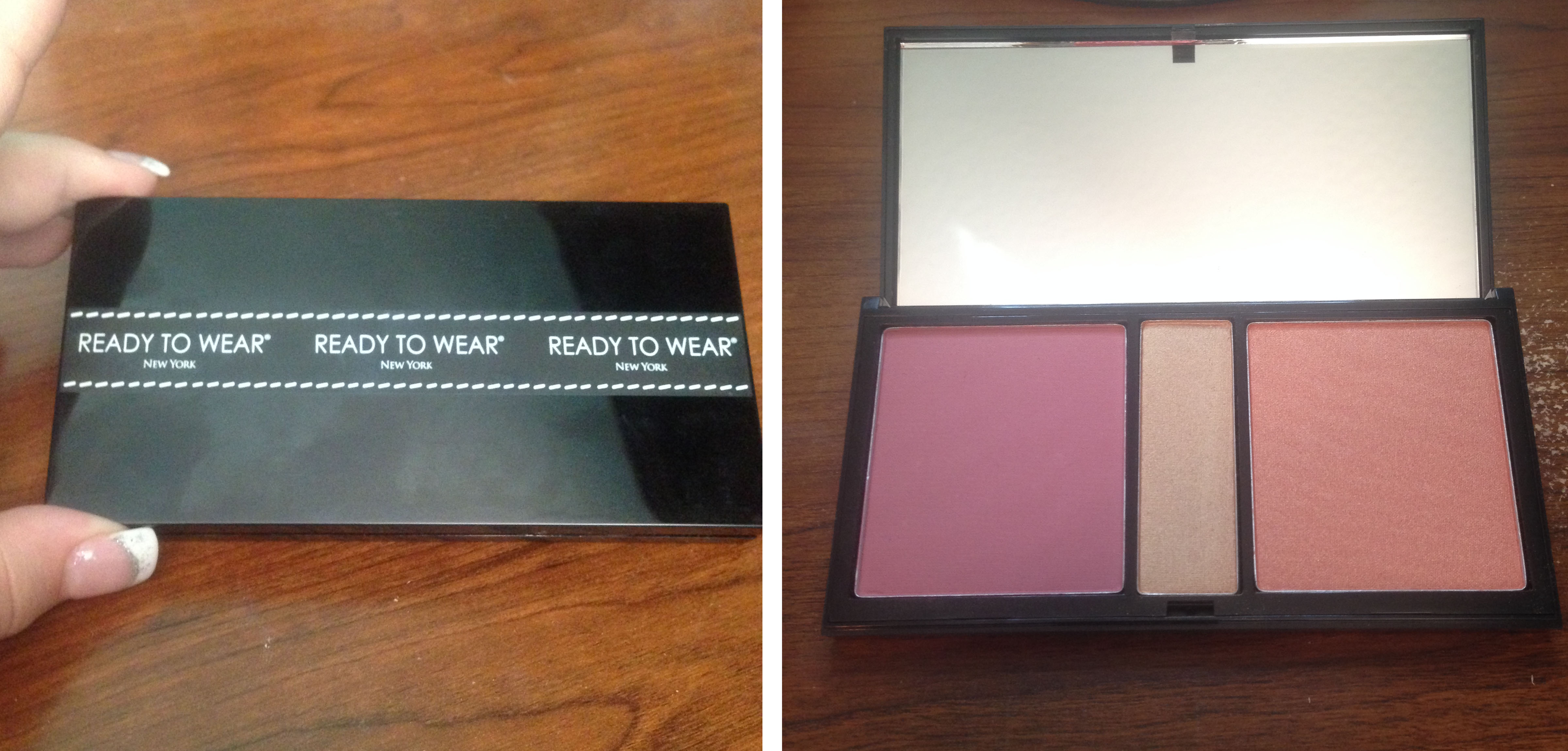 Wear face collection - Ready To Wear New York Glam Collection Face Palette