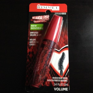 c22541faa77 Rimmel London, ScandalEyes Rockin' Curves Mascara- #003 Extreme Black: $5.99