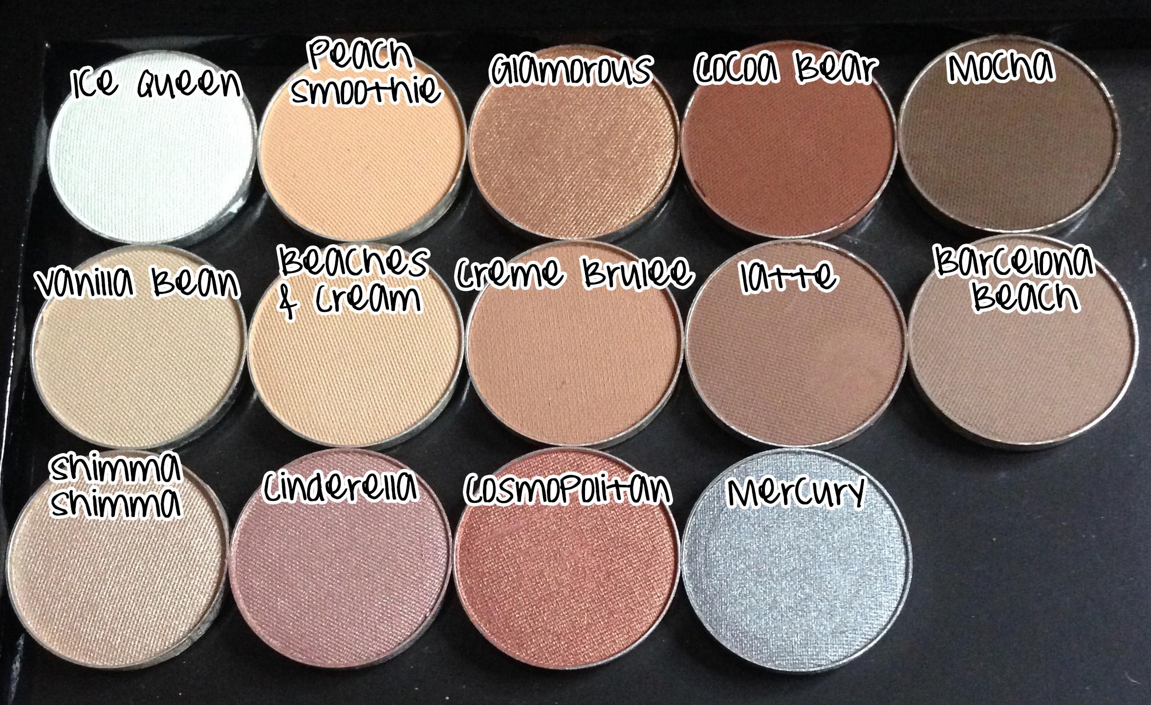 Makeup geek single eyeshadow peach smoothie